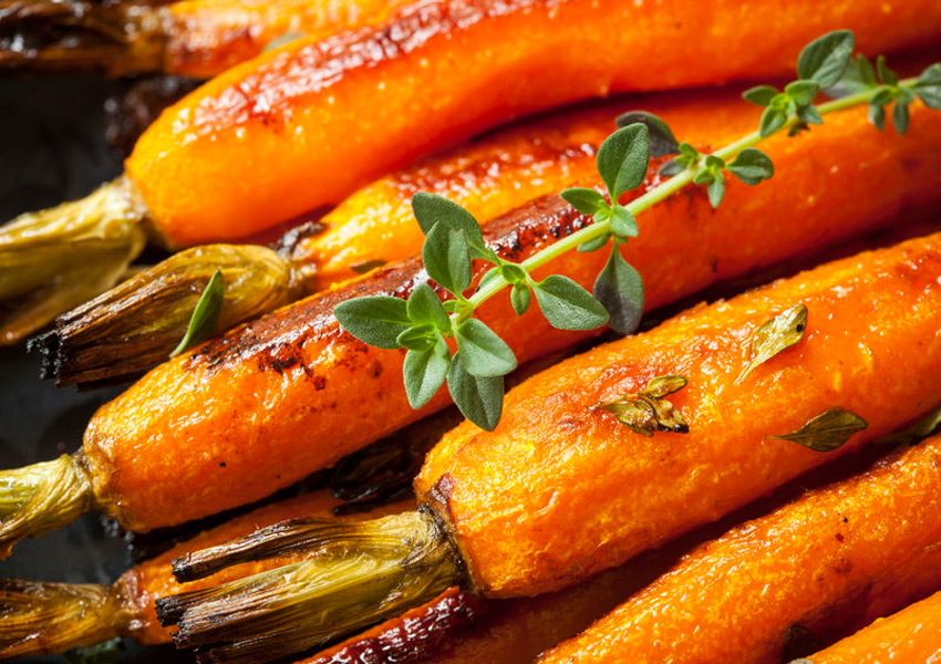 Lemon-Thyme Roasted Carrots