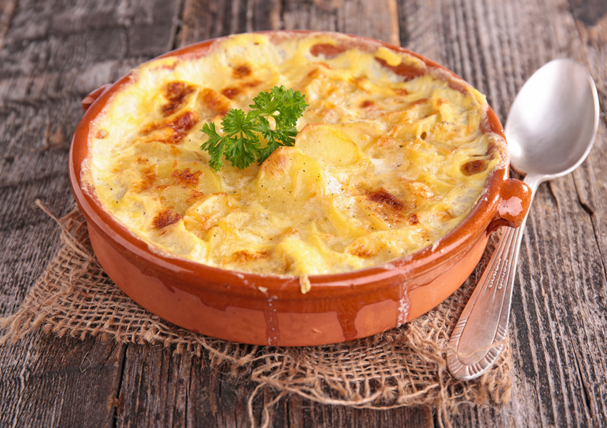 Mashed Potato Gratin
