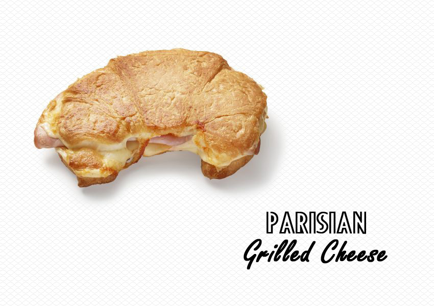 Parisian Grilled Cheese