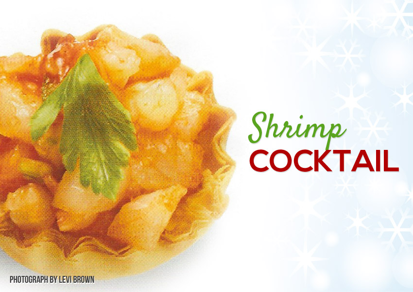 Shrimp Cocktail Phyllo Shells