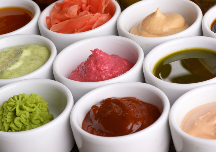 Step Up Your Condiments