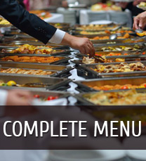 Complete Catering Menu