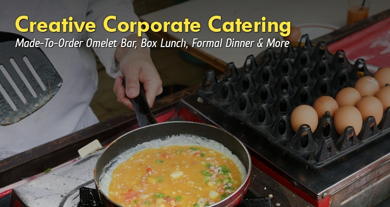 slider corporate catering