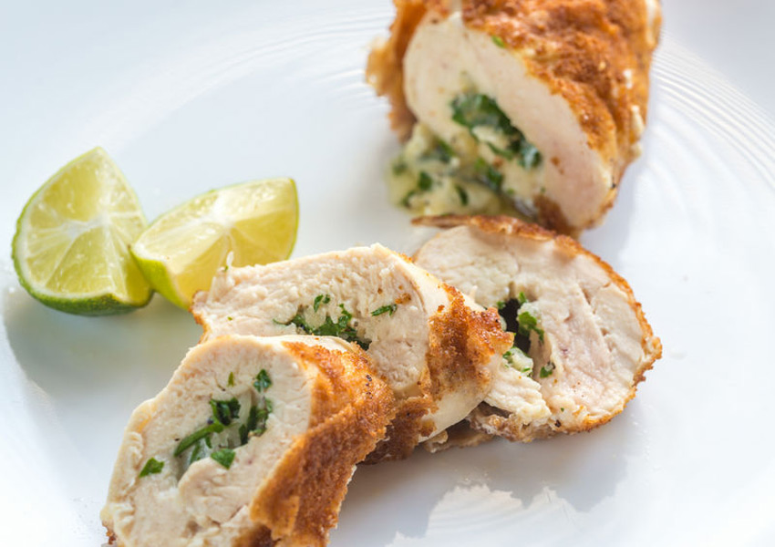 Goat Cheese-and-Apricot-Stuffed Chicken