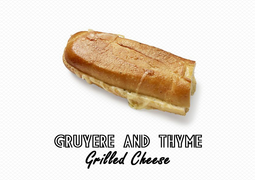 Gruyère and Thyme Grilled Cheese