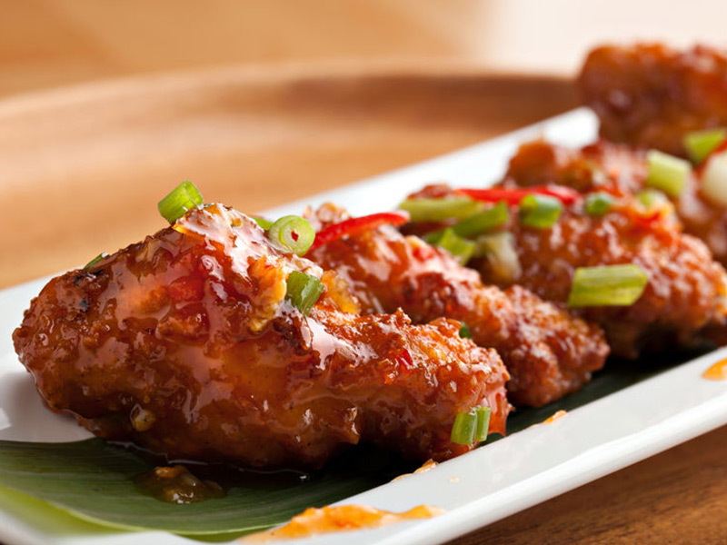 Spicy Thai & Ginger Chicken Wings