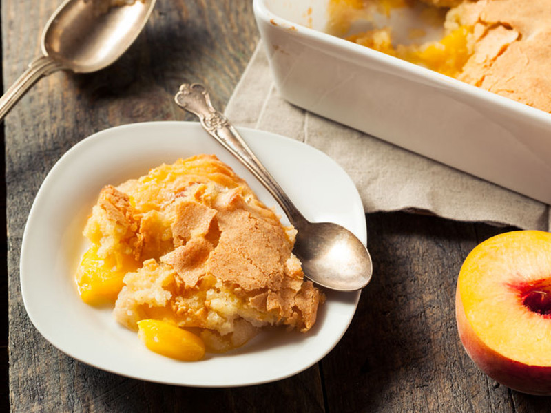 Summer Lovin Peach Cobbler