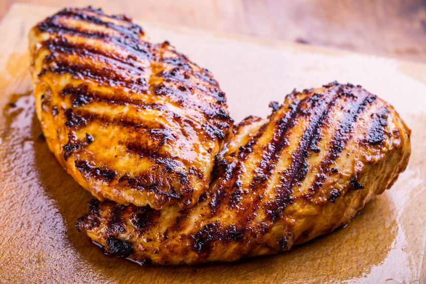 Zesty Barbecue Chicken