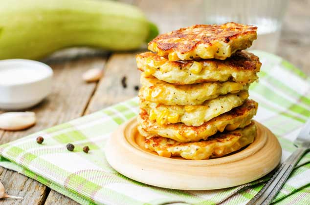 These hearty corn fritters make a wonderful main dish or give a new twist to everyone's favorite appetizer