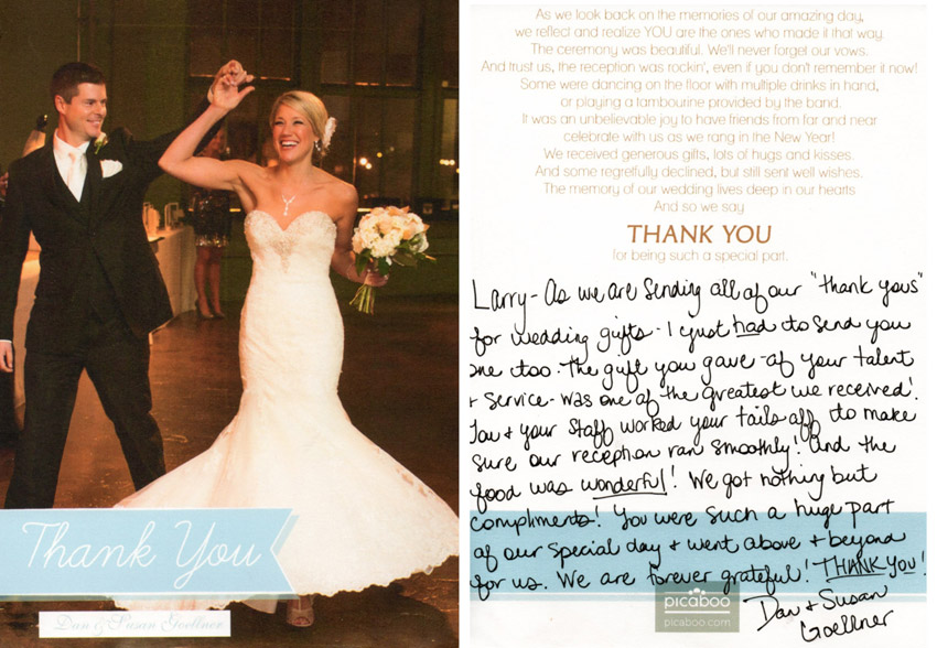 Featured Wedding Testimonial